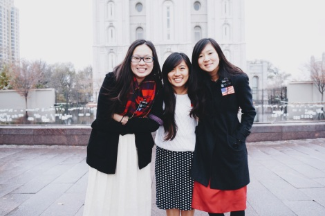 Sister Yang and Sister Liao from Taiwan!